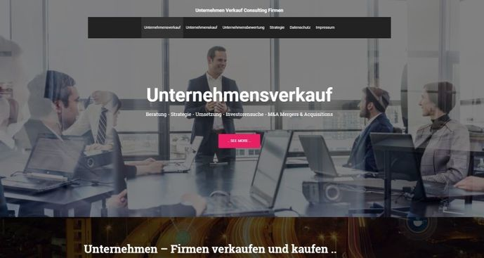 Plattform Unternehmensbörse: Neues Portal für Unternehmensverkauf von Firmen (!)