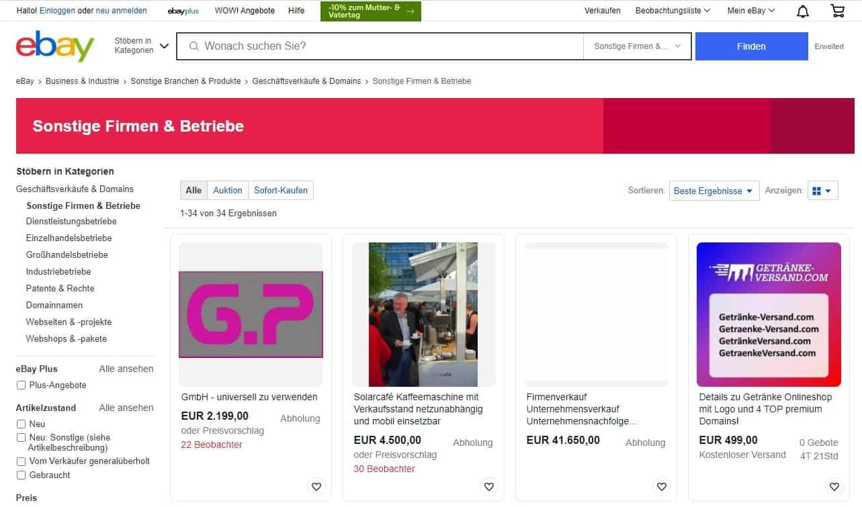 Wie Sie ein Unternehmen auf eBay verkaufen! - Ihr Ratgeber www.hsc-personal.de